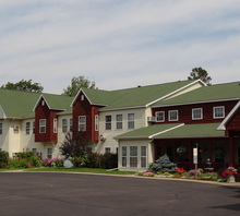 Assisted living lodge